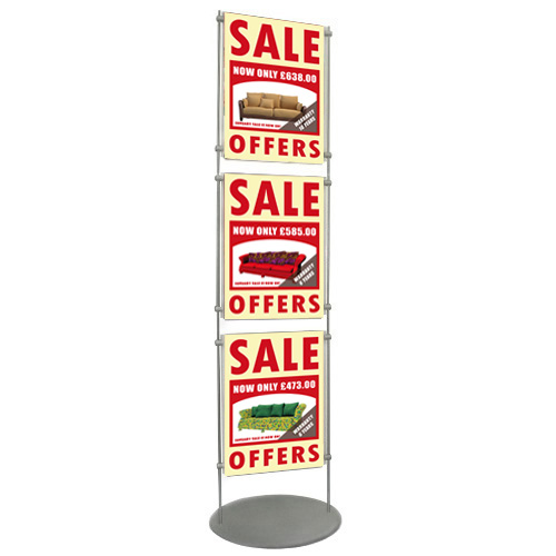 3x A3P poster holders