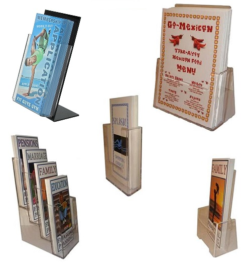 6 Leaflet holders