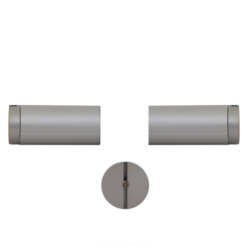 514 - Aluminium tube with end fixings for wires