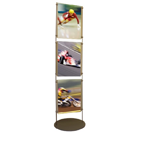 Free standing 10mm bar stand 3x A3P