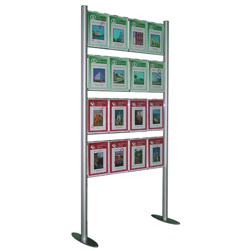 Multi-Posters on 'Ladder' display Stands