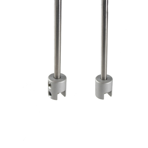Panel top clamps for 4mm bars