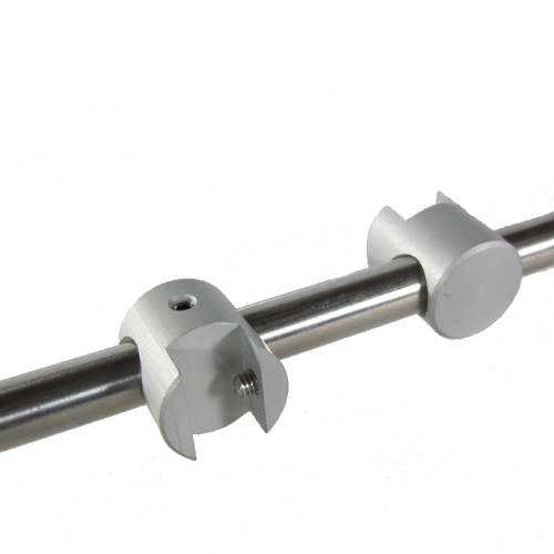 554 - Shelf clamps for 10mm bars
