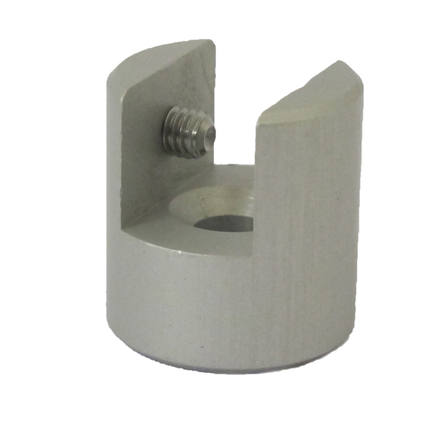 Perpendicular clamp - holds a panel at right angles to a wall (EM26..)