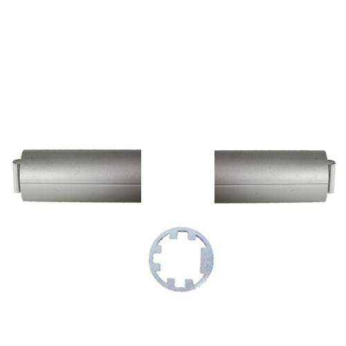 Circular profile cross-bars (25mm diameter) - L/R