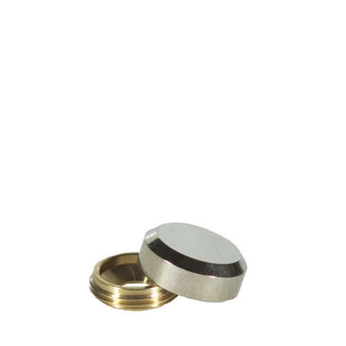 332 - 2-part screw covers, 16mm diameter - M30