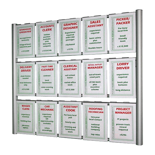 836 Wall ladders for posters