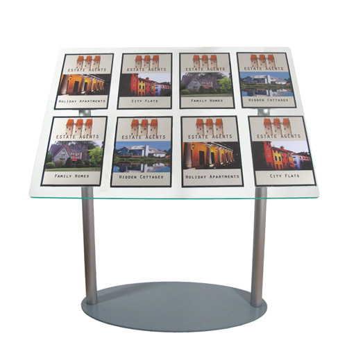 Multi-Posters on Angled Stands