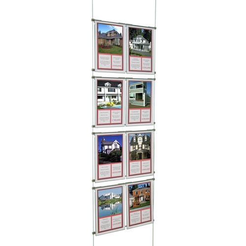 Suspended Hook On Poster Displays