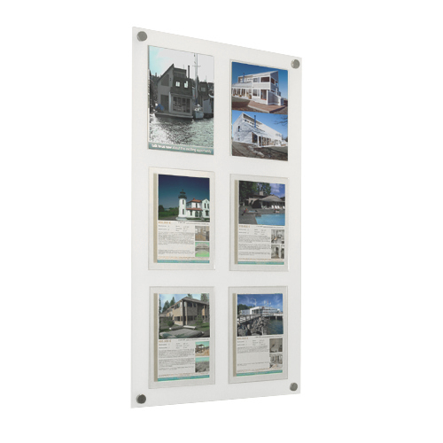 Multi Poster Wall Panel Displays