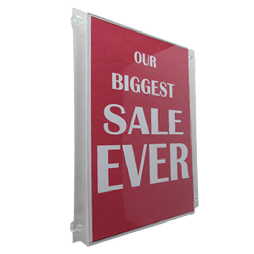 Poster holders (pockets) with suction cups (CG../SC)