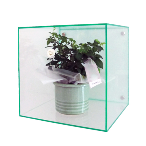 AB2: Wall mount acrylic cubes (boxes)